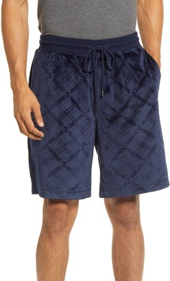 Daniel Buchler Diamond Cut Velour Lounge Shorts