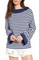 BP Women's Bell Sleeve Boatneck Sweater