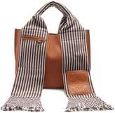 Loewe Scarf leather tote