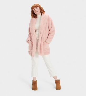 UGG Annona Sherpa Travel Cardigan