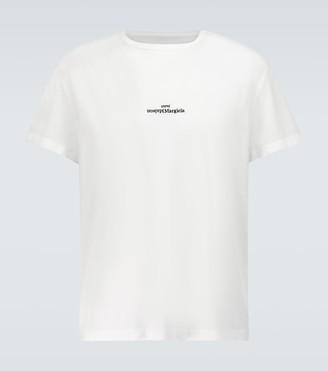 Maison Margiela Upside down logo T-shirt
