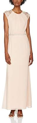 Elise Ryan Women's Maxi with Lace Round Low Back no Information|#255 Sleeveless Dress