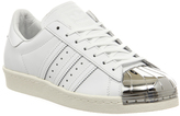 adidas Superstar 80#039;s Metal Toe Trainers