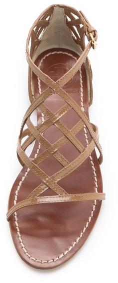 Tory Burch Amalie Flat Sandals