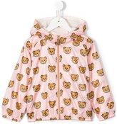 Moschino Kids - teddy bear print jacket - kids - Polyester/Cotton - 2 yrs
