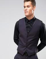 Burton Menswear Skinny Jacquard Waistcoat