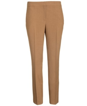 Bar III Cropped Slim-Fit Pencil Pants, Created for Macy's