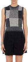 Marc Jacobs Women's Colorblocked Sweatervest-GREY