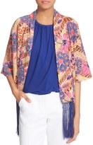 Trina Turk Rosalva Print Silk Kimono