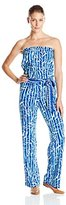Lilly Pulitzer Women's Tia Strapless Jumpsuit