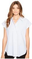 Lysse Rosa Shirt Women's Short Sleeve Button Up