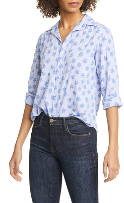 Frank And Eileen Floral Cotton Shirt