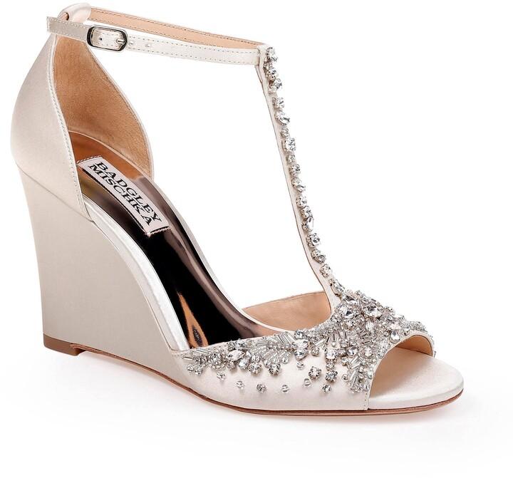 Badgley Mischka Collection Sarah T-Strap Sandal