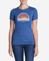 Eddie Bauer Women's Graphic T-Shirt - Mt. St. Helens