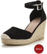Very Polly Two Part Espadrille Wedge