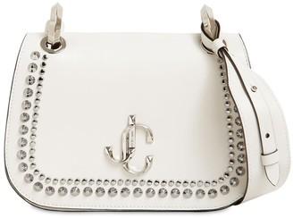 Jimmy Choo Sm Varenne Smooth Leather Shoulder Bag