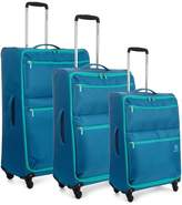 REVELATION By Antler Weightless 4-Wheel 3 Piece Luggage Set