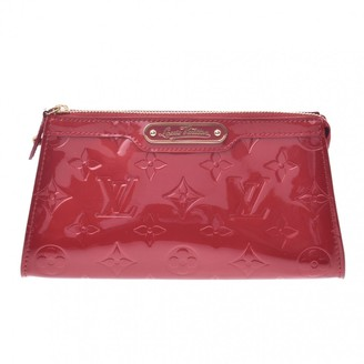 Louis Vuitton Red Patent leather Travel bags