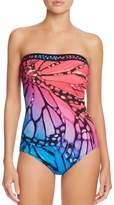 Gottex Monarch Bandeau One Piece Swimsuit