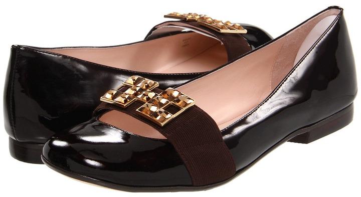 Taryn Rose Bailey (Dark Brown Mirror Patent) - Footwear