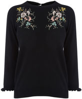 Oasis Shipwrecked embroidered knit