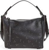 AllSaints Junai Studded Leather Crossbody Bag