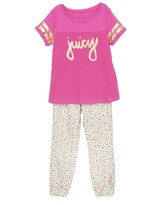 Juicy Couture 2pc Top & Pant Set