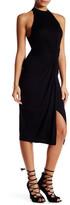 Astr Sleeveless Knotted Dress