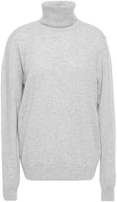 Chalayan Cutout Melange Cashmere Turtleneck Sweater