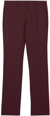 Burberry Straight Fit Tailored Trousers