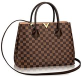 Louis Vuitton Louis V uitton Damier Kensington Shoulder Handbag Article: N41435 Made in France