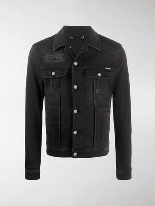 Dolce & Gabbana Distressed-Effect Detail Denim Jacket