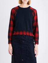 3.1 Phillip Lim Plaid cotton sweatshirt