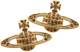 Vivienne Westwood Mini Bas Relief Earrings Gold