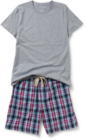 David Jones Ss Tee And Woven Short