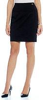 Ivanka Trump Ponte Knit Pencil Skirt