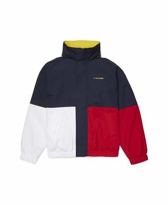 Tommy Hilfiger Men's Adaptive Magnetic Button Shirt Short Sleeve Custom Fit
