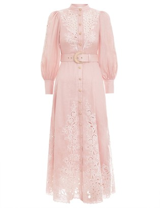 Zimmermann Freja Embroidery Dress