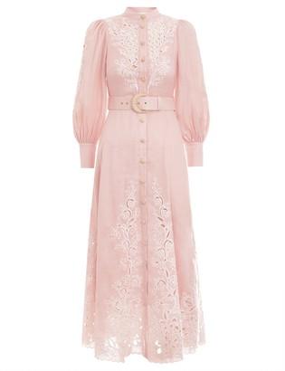 Zimmermann Freja Embroidery Dress