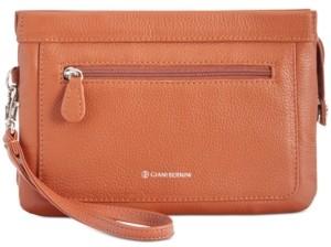 Giani Bernini Softy Leather Crossbody Wallet, Created for Macy's