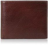 Tommy Hilfiger Men's Leather York Passcase Wallet with Removable Card Case