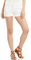 Miss Me Sailor Woven Stretch Denim Shorts
