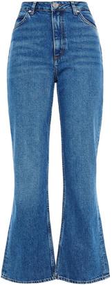 Sandro Rudolphe High-rise Kick-flare Jeans