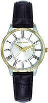 Pierre Cardin Women's 30mm Leather Band Steel Case Quartz Watch Pc901732f03
