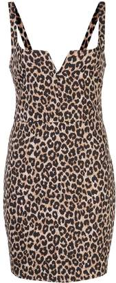 LIKELY Constance leopard print dress