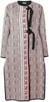 Jil Sander manteau à design de tissag