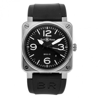 Bell & Ross BR-03 Black Steel Watches