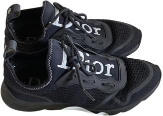 Christian Dior Black Cloth Trainers