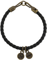 Diesel mini pendants bracelet