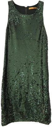Alice + Olivia Green Glitter Dress for Women